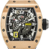 Richard Mille RM 030 Rose gold 50mm Transparent Arabic numerals