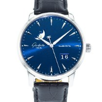 Glashütte Original Senator Excellence Steel 42mm Blue United States of America, Georgia, Atlanta