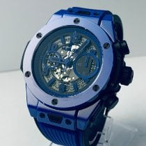 Hublot Big Bang Ceramic 45mm Transparent Arabic numerals