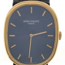 Patek Philippe Golden Ellipse Yellow gold 32mm Blue United States of America, New York, NY