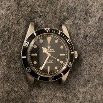 Rolex Submariner (No Date) Acier 37mm Noir Sans chiffres France, Paris