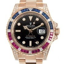 Rolex GMT-Master II Rose gold 40mm Black No numerals United Kingdom, London