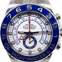 Rolex Yacht-Master II Stahl 44mm Weiß Keine Ziffern Deutschland, Koblenz