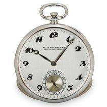 Patek Philippe Vintage White gold 43mm Silver Arabic numerals