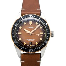 Oris 01 733 7707 4356-07 5 20 45 Bronze 2020 Divers Sixty Five 40.00mm new