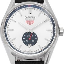 TAG Heuer WV5111.FC6350 Steel 2015 Carrera Calibre 6 39mm pre-owned