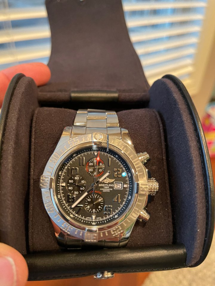 Breitling Super Avenger II A1337111/BC29/168A 2018 pre-owned