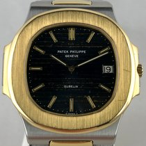 Patek Philippe Nautilus 3700 Very good Gold/Steel 40mm Automatic