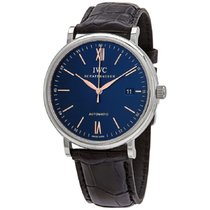 IWC Portofino Automatic Steel 40mm Blue United States of America, New York, New York
