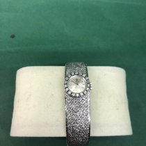 Rolex White gold Manual winding 17mm pre-owned Oyster Precision