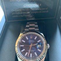 Rolex Datejust II Acero 41mm Azul Sin cifras España, Gava Mar