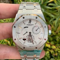 Audemars Piguet Royal Oak Dual Time Steel 39mm Silver No numerals United States of America, California, Los Angeles