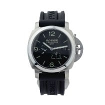 Panerai Luminor 1950 3 Days GMT Power Reserve Automatic Acier Noir
