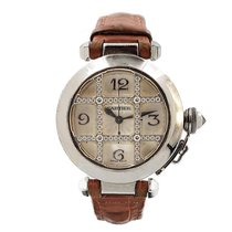 Cartier 2529 Or blanc Pasha 32mm occasion