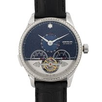 Montblanc White gold Automatic 45mm pre-owned Heritage Chronométrie