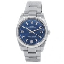 Rolex Oyster Perpetual 34 Steel 34mm Blue United States of America, New York, New York