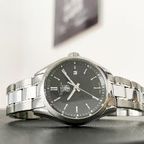 TAG Heuer Carrera Lady Steel 27mm Black No numerals United States of America, California, Pasadena