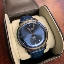 Glashütte Original Sixties Panorama Date Steel 42mm Blue Arabic numerals