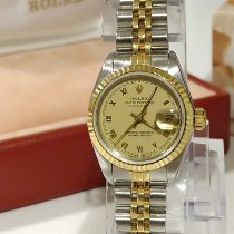 Rolex Oyster Perpetual Lady Date Gold/Steel Roman numerals United Kingdom, alloa