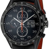 TAG Heuer Carrera Calibre 1887 Titanium 43mm Black Arabic numerals United States of America, California, Los Angeles