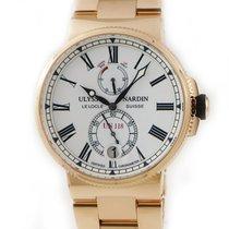 Ulysse Nardin Marine Chronometer Manufacture occasion Blanc