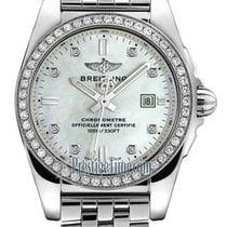 Breitling Galactic new 2021 Quartz Watch with original box a7234853/a785/791a