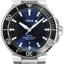 Oris Aquis Date Steel 41.5mm Blue United States of America, New York, Airmont