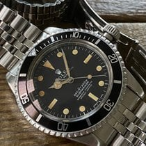 Rolex Submariner (No Date) Acero 40mm Negro Sin cifras