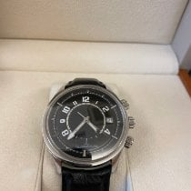Jaeger-LeCoultre Steel Automatic Black Arabic numerals 42mm pre-owned AMVOX