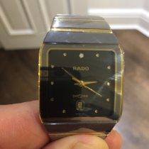 Rado Diastar Steel 27mm Black No numerals United Kingdom, Hale