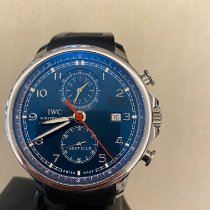 IWC Portuguese Yacht Club Chronograph IW390213 Zeer goed Staal Automatisch