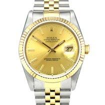 Rolex 16233 Zlato/Ocel 1988 Datejust 36mm použité