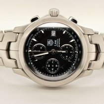 TAG Heuer Link Calibre 16 Steel 40mm Black United States of America, Washington, Bellevue