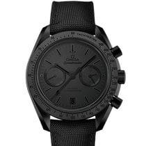 Omega Speedmaster Professional Moonwatch Cerâmica Preto Sem números