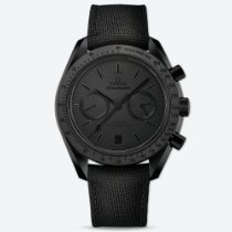 Omega Speedmaster Professional Moonwatch Cerámica Negro Sin cifras