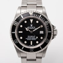 Rolex 16600 Steel 1992 Sea-Dweller 4000 40mm pre-owned United Kingdom, Radlett