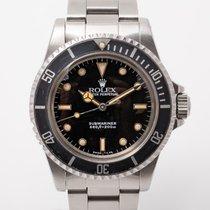 Rolex Submariner (No Date) Steel 40mm Black No numerals United Kingdom, Radlett