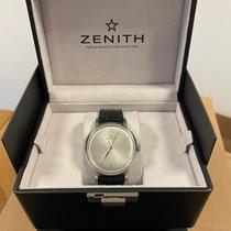 Zenith Elite 6150 Acier 42mm Argent Sans chiffres France, versailles