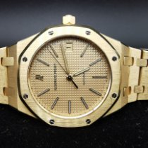 Audemars Piguet Royal Oak Oro amarillo 36mm Champán Sin cifras