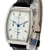 Breguet Héritage White gold 38.7mm Silver Roman numerals United States of America, New Jersey, Princeton