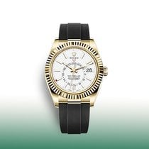 Rolex Sky-Dweller Yellow gold 42mm White No numerals United States of America, New York, New York