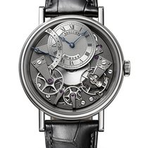 Breguet White gold Automatic Grey Roman numerals 40mm new Tradition