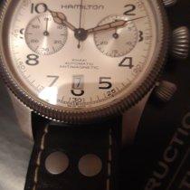 Hamilton Khaki Field Pioneer Acier 42mm Gris Arabes