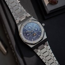 Audemars Piguet Royal Oak Perpetual Calendar Acero 39mm Azul