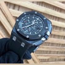 Audemars Piguet Пластик Автоподзавод Черный Без цифр 44mm новые Royal Oak Offshore Chronograph