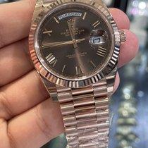 Rolex Day-Date 40 nuevo 2020 Automático Reloj con estuche y documentos originales 228235