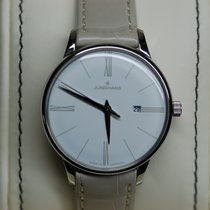 Junghans Meister Ladies Steel 30mm White Roman numerals