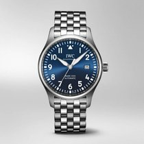 IWC Pilot Mark Steel 40mm Blue Arabic numerals United States of America, New Jersey, Princeton