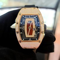 Richard Mille RM 037 Rose gold 52.63mm Red No numerals