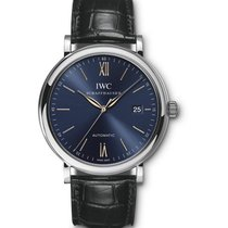 IWC Portofino Automatic Steel 40mm Blue Roman numerals United States of America, New Jersey, Princeton